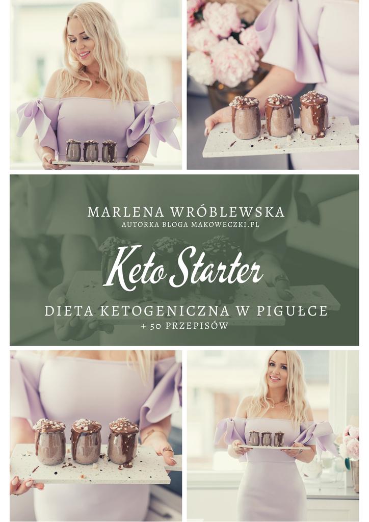 KETO Starter - dieta ketogeniczna w pigułce + 50 przepisów