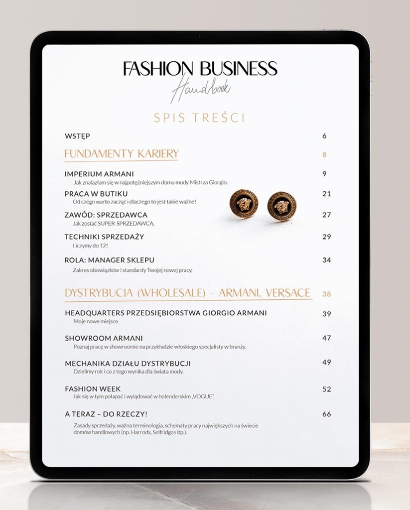 FASHION BUSINESS HANDBOOK