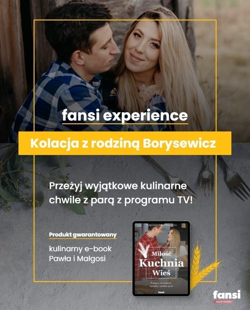 Kolacja z rodziną Borysewicz!