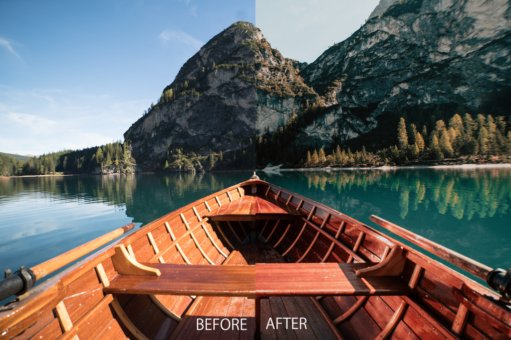 Italy Travel – Lago di Braies - Włoskie kolory | Lightroom Desktop & Mobile Preset